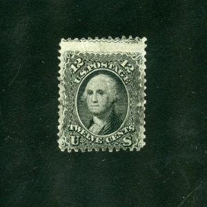 UNITED STATES 12c WASHINGTON  SCOTT#69  USED ---SCOTT $95.00