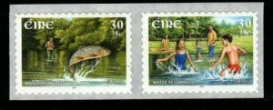 IRELAND SG1422/3 2001 EUROPA WATER RESOURCES SELF ADHESIVE MNH