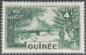 DYNAMITE Stamps: French Guinea Scott #130 - UNUSED