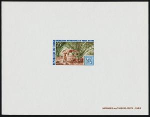 Congo PR 198-9 Deluxe Sheets MNH ILO, Pineapple