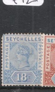 Seychelles SG 31 MOG (6dgo)