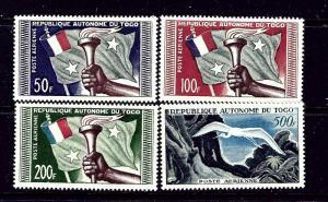 Togo C22-25 MNH 1950 set