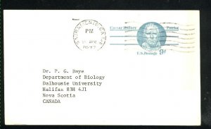 USA  postcard 9 cent  1977 PD