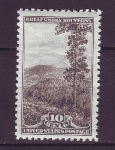 J4788 JLstamps 1934 usa mnh hv set 10c #749 national parks