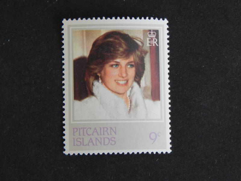 PICAIRN ISLAND 1982 21ST ANNIVERSARY OF THE BIRTH OF PRINCESS DIANA 9C MNH