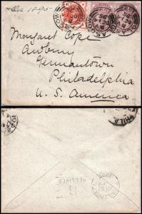 Goldpath: England cover 1895, to U.S.A. _CV15_P9