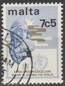 Malta #473  F-VF Used (V642)
