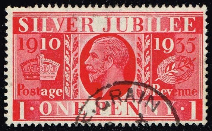 Great Britain #227 Silver Jubilee Issue; Used (1.75)