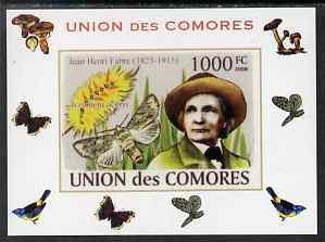 Comoro Islands 2008 Entomologists & Butterflies #5 Je...