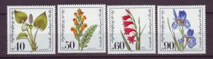 J20765 Jlstamps 1981 berlin germany set mnh #9nb182-5 flowers