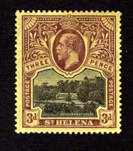 ST. HELENA  SC# 66  VF/MLH