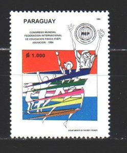 Paraguay. 1994. 4662 from the series. Physical Education Conference. MNH.