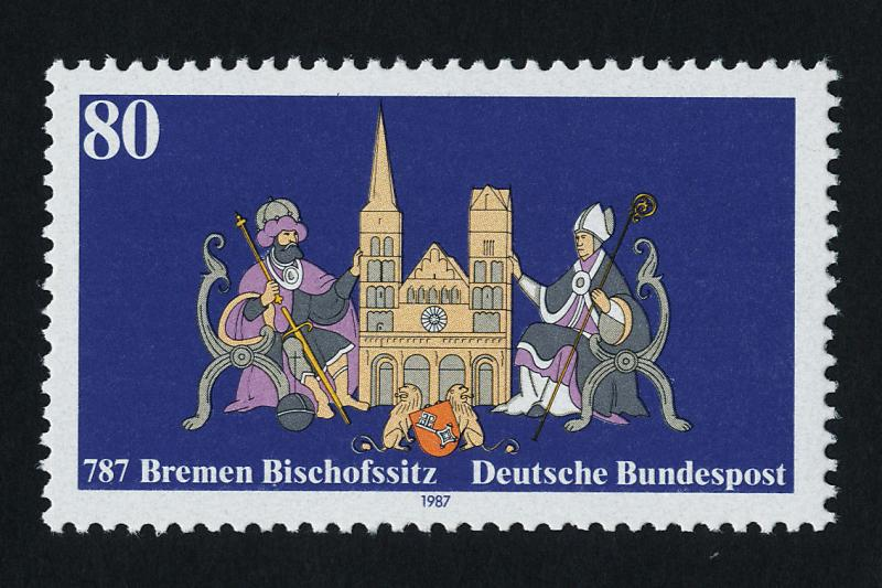 Germany 1513 MNH Bishopric of Bremen, Architecture