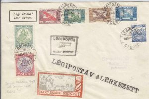 1925, Special Flt., AAMC-4, Szeged to Budapest, Hungary, See Remark (24400)