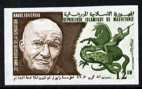 Mauritania 1978 25th Anniversary of Raoul Follereau Found...