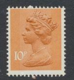 GB Machin SG X886 Mint Never Hinged Type I  - 10p