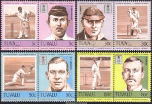 Tuvalu Scott 259-262 Mint never hinged.