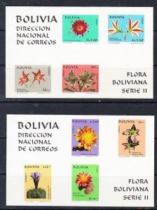 Bolivia Scott 537a-537b Mint NH (Catalog Value $30.00)