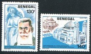 1987 Senegal 936-937 Pere Daniel Bratteir 3,20 €
