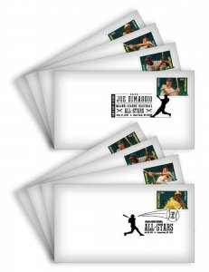 USA FDC: BASEBALL ALL STARS FIRST DAY COVERS (SET OF 8) - LOT # 2