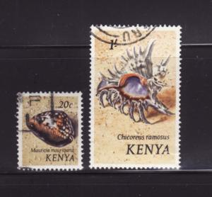 Kenya 39, 45 U Sea Shells