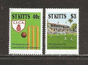 Saint Kitts Scott catalog # 230-231 Mint NH