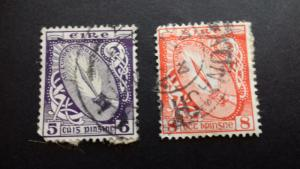 Ireland 1940-1946 New Daily Stamp Used