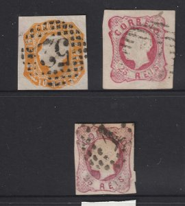 Portugal x 3 old imperfs used