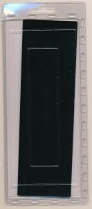 Prinz Scott Stamp Mount 61/215 BLACK Background Pack of 15