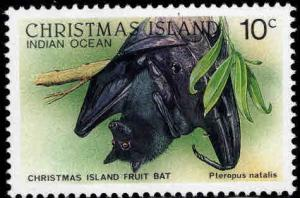 Christmas Island Scott 200 MNH** Fruit Bat stamp
