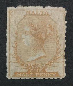 MOMEN: MALTA SG #14 P12.5 CROWN CC MINT OG H LOT #198916-6318