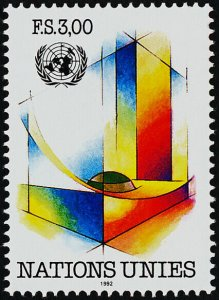 United Nations - Geneva 213 MNH Art, Architecture