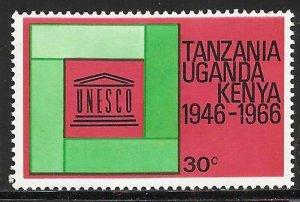 Kenya, Uganda & Tanzania 1966 Scott# 168 MH