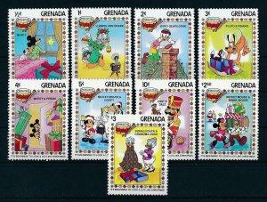 [22507] Grenada 1983 Disney Characters and Christmas MNH