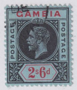 GAMBIA 84 USED NO FAULTS EXTRA FINE