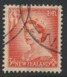 New Zealand SG 727 SC# 292 Used  see details 1953 QE II  Definitive Issue