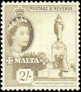 Malta #258, Incomplete Set, 1956-1957, Hinged