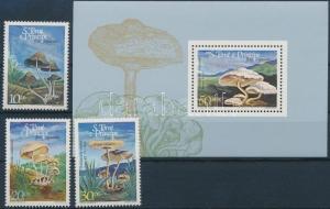 Sao Tomé e Príncipe stamp Mushrooms set + block MNH 1984 WS165125