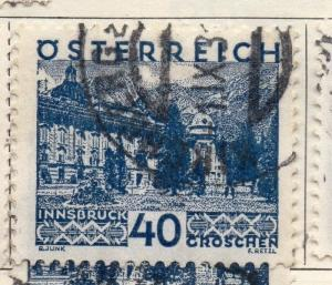 Austria 1929-30 Early Issue Fine Used 40g. 114666
