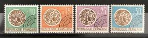 France 1964-66 #1096-9, MNH, CV $2.35