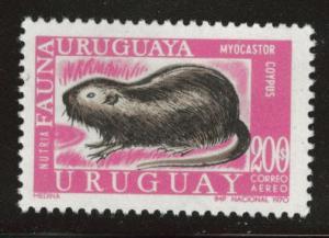 Uruguay Scott c367 MNH** from 1970-71 airmail set