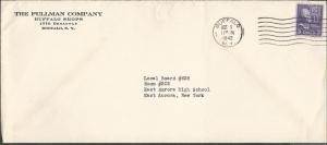 # 803 on Legal Size Cover for The Pullman Co., Precancels