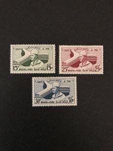 Morocco 1958 #25-7, MNH, CV $1.35