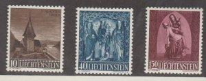 Liechtenstein Scott #317-318-319 Stamps - Mint NH Set