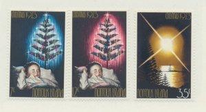 Norfolk Island Scott #153 To 155, Christmas, Sleeping Child and Christmas Tre...