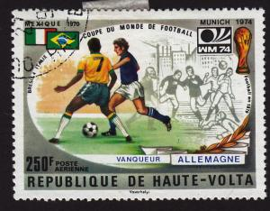 Burkina Faso C195 World Cup, Game and Flags 1974