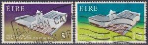 Ireland #194-5 F-VF Used  CV $4.50  (Z1697)