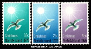 Norfolk Islands Scott 198-200 Mint never hinged.