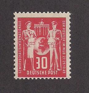 GERMANY - DDR SC# 50 FINE MNH 1949