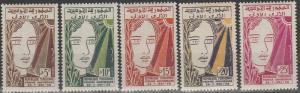 Tunisia #323-7 MNH (S9665L)